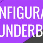 cabecera artículo para configurar thunderbird desde cPanel