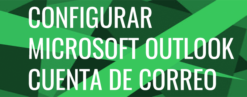 cabecera configurar Outlook