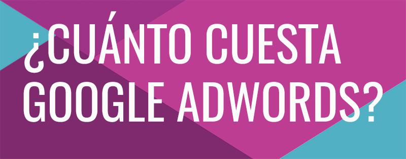 precio google adwords