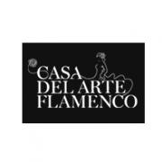 Esta es una imagen de casa arte flamenco logotipo