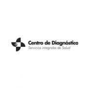 centro diagnóstico logotipo