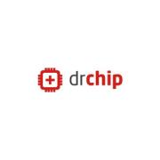 Esta imagen muestra el logotipo de Doctor Chip en Granada