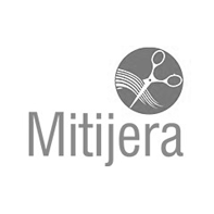 mi tijera logotipo