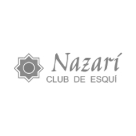 Logotipo club nazari club de esqui