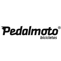 Logotipo Pedalmoto bicicletas