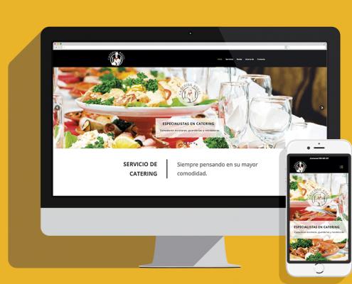 Catering Angel Diseño web