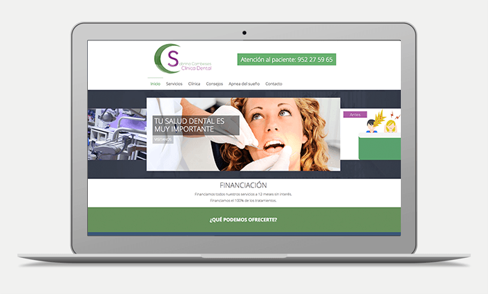 preview web dental malaga