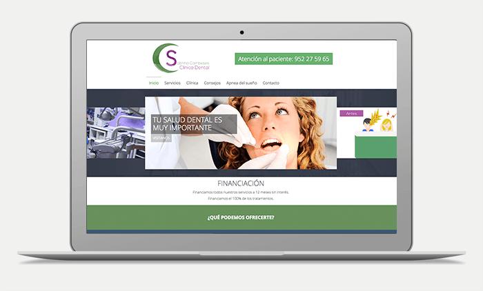 preview web dental malaga