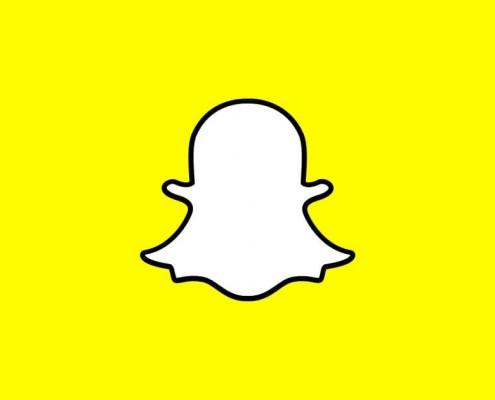 Esta imagen muestra el logotipo de snapchat