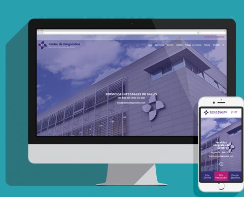 Diseño web Granada Centro De Diagnóstico