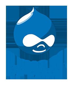 logotipo drupal
