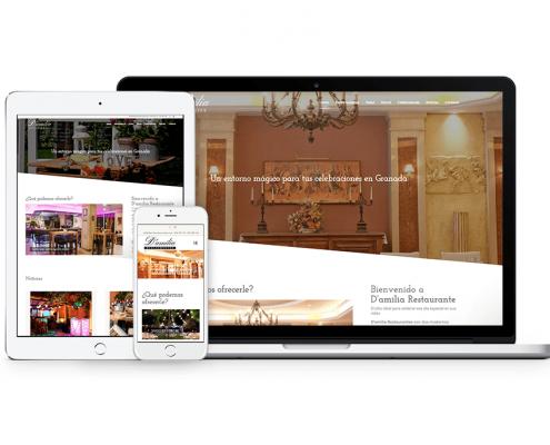 Diseño web Dámilia