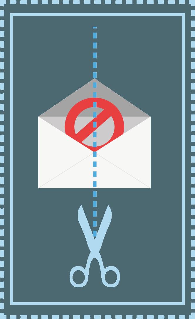 No más spam