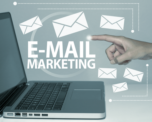 Email marketing concepto