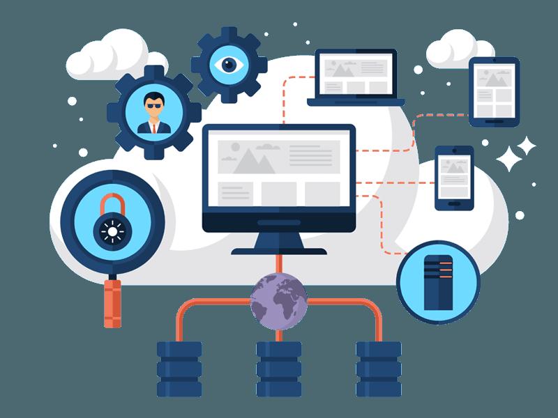 hosting y servicios