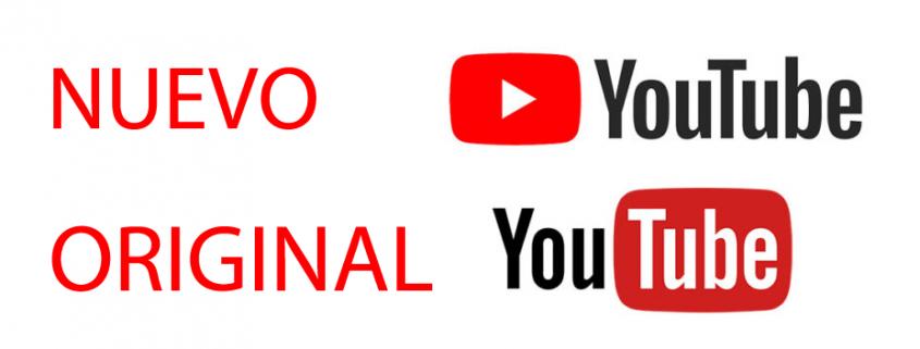 Youtube cambia su logotipo por primera vez en su historia