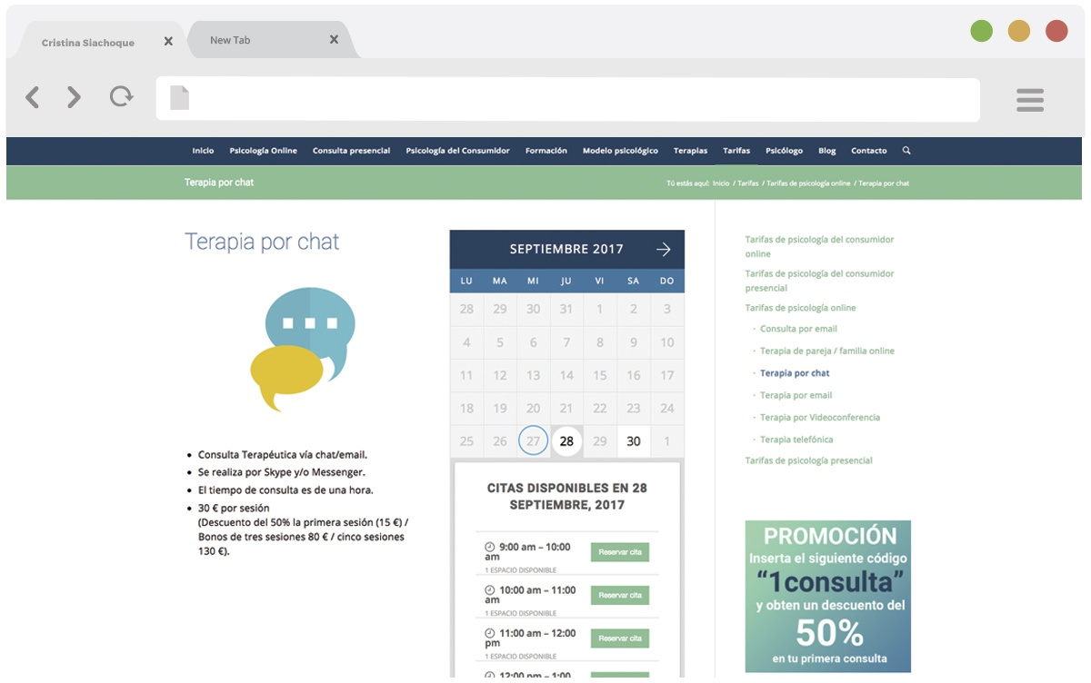 Cristina Siachoque web