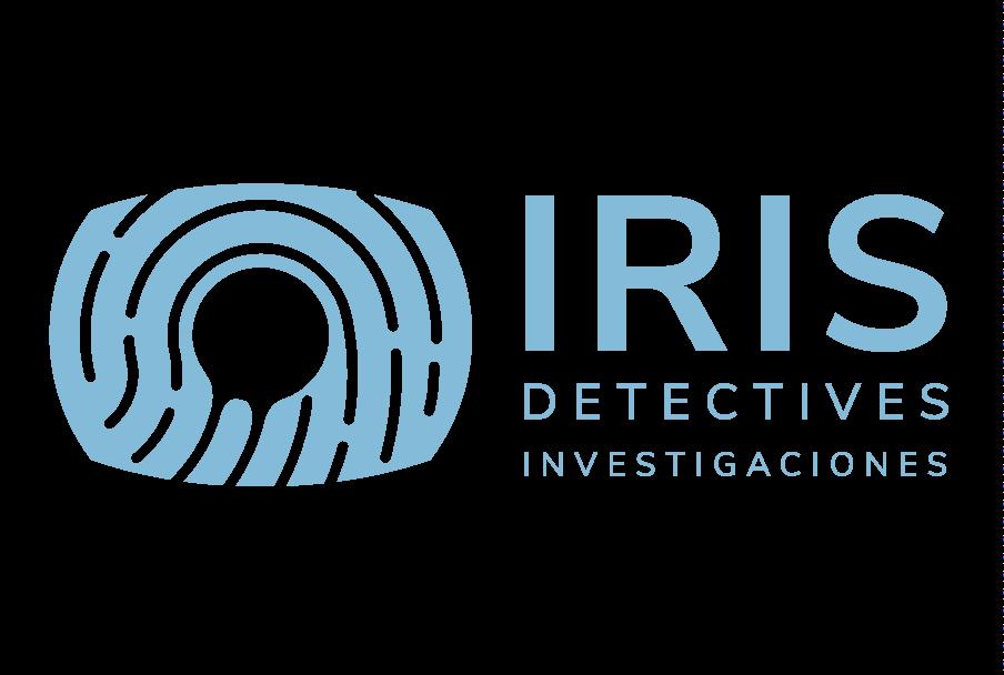 Logotipo detectives IRIS versión horizontal