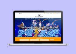 Imagen para visualizar el diseño web de traducciones kleinerman