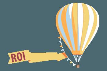 imagen que muestra un globo que representa el concepto de ROI