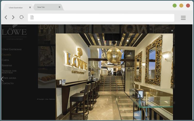Diseño web Lowe Granada