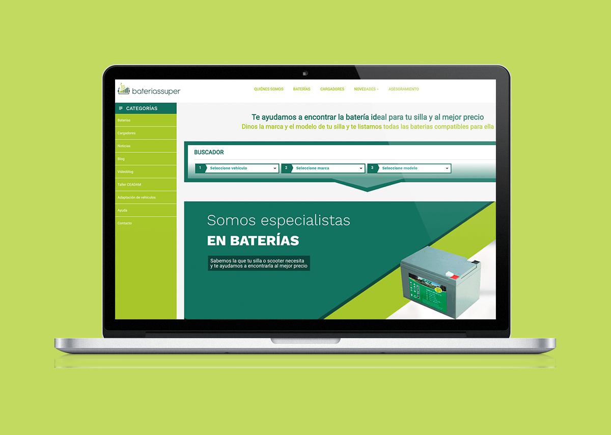 Diseño y desarrollo tienda online