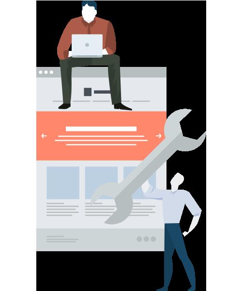 Diseño web adaptado a cada cliente