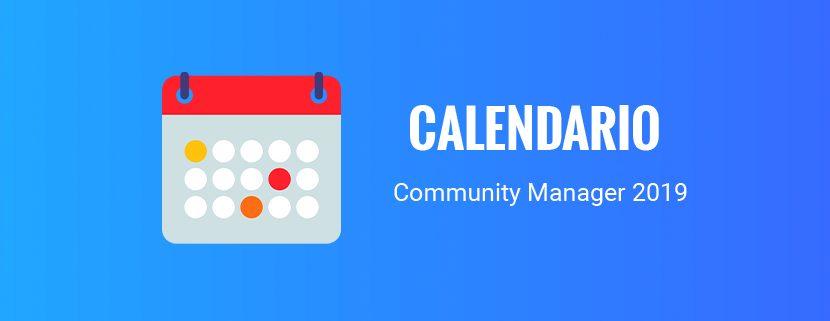 Calendario El Grafico 2019 Pdf.Calendario Para Community Manager 2019 Citysem